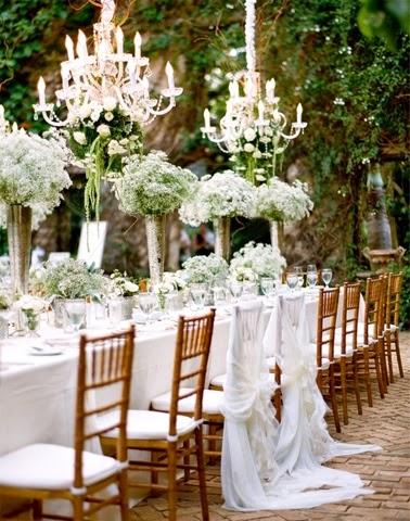 Mesa larga para bodas 4